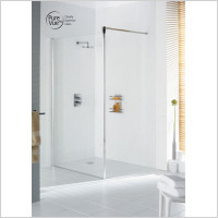 Lakes - Classic Semi Framed Shower Screen 1000mm