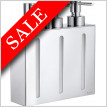 Outline Wall Mounted Soap Dispenser 210mm 3 Containers