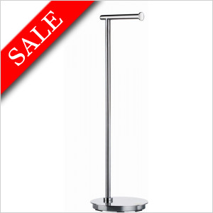 OutlineLite Toilet Roll Holder Freestanding Round