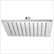 Square fixed shower heads