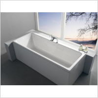 Carron Baths - Quantum Duo Bath 1800 x 800mm 5mm