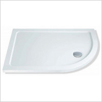 MX Shower Trays - Elements Low Profile RH Offset Quad 900 x 800mm Shower Tray