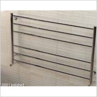 Eastbrook - Violla 590 x 1000mm Stainless Steel Towel Rail