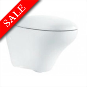 Egg WC seat with soft close hinges