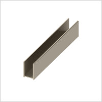 Abacus - Glass Surface Channel 10 x 2400mm