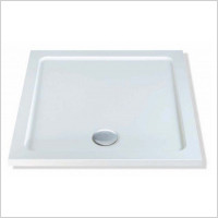 MX Shower Trays - Elements Low Profile ABS 700 x 700mm Square Shower Tray