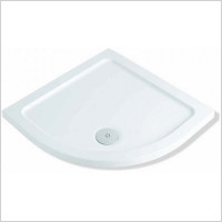 MX Shower Trays - Elements Low Profile ABS 900 x 900mm Quadrant Shower Tray Ra