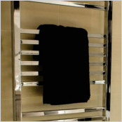 Straight Anthracite Towel Rails