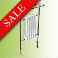 Abacus - Elegance Half Sovereign Towel Warmer 960 x 500mm