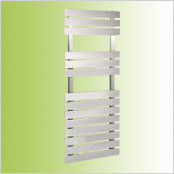 Straight brushed Stainless Steel Towel Rails