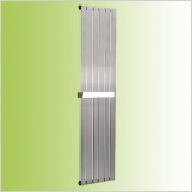 Brushed Matt Stainless Steel Vertical Radiators