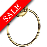 Smedbo - Villa Towel Ring Dia 155mm