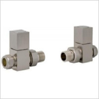 Eastbrook - Straight Square Radiator Valve