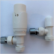 Thermostatic Angled Valves