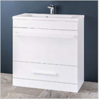 Eastbrook - Oslo 800mm Basin Unit With Internal Drawer