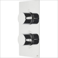 Roper Rhodes - Event Round Dual Control Thermostatic Shower Valve