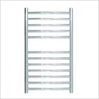 Jis - Camber Curved Fronted Towel Rail 700x400mm