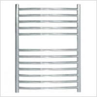 Jis - Camber Curved Fronted Towel Rail 700x520mm